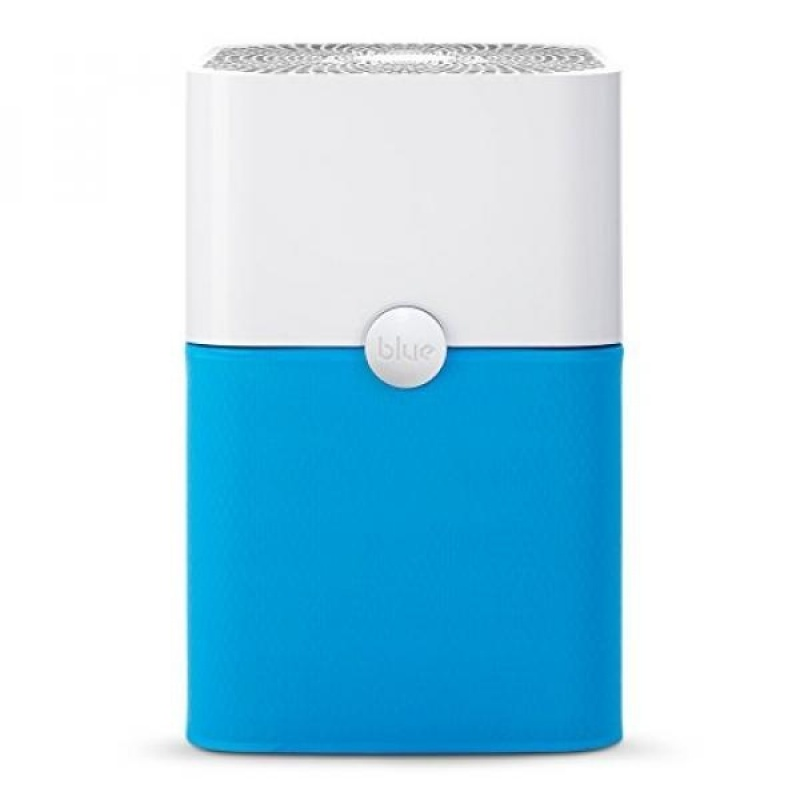 Blue Pure 211+ Air Purifier with Particle and Carbon Filter for Allergen and Odor Reduction, Washable Pre-Filter, Rooms, by Blueair - intl Singapore