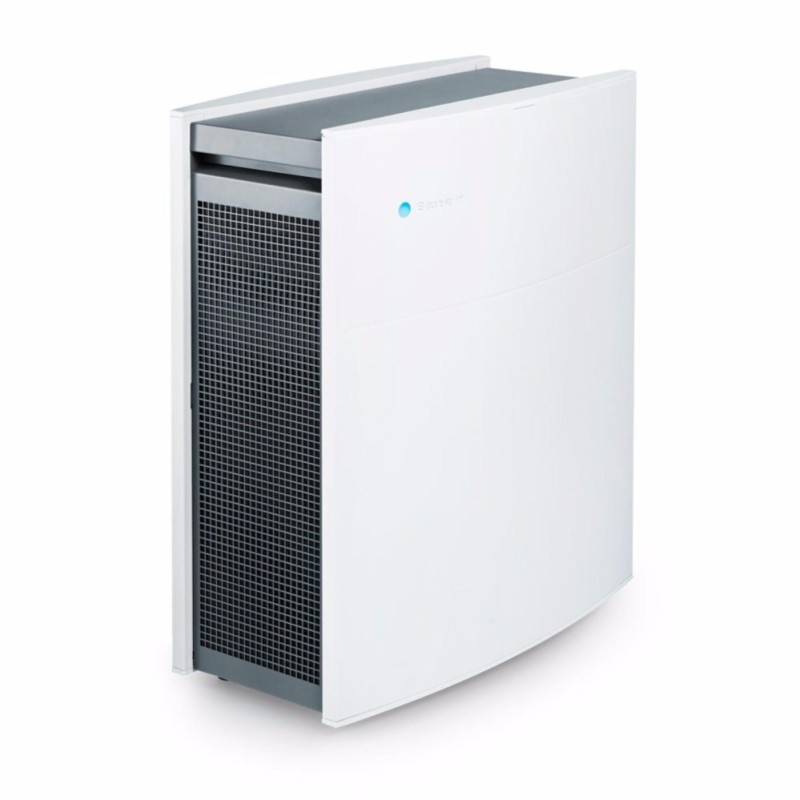 Blueair Classic 405 Air Purifier with HEPASilent Filtration for Allergen Reduction, Medium Rooms 434 sq. ft. WiFi Enabled, ALEXA compatible - intl Singapore