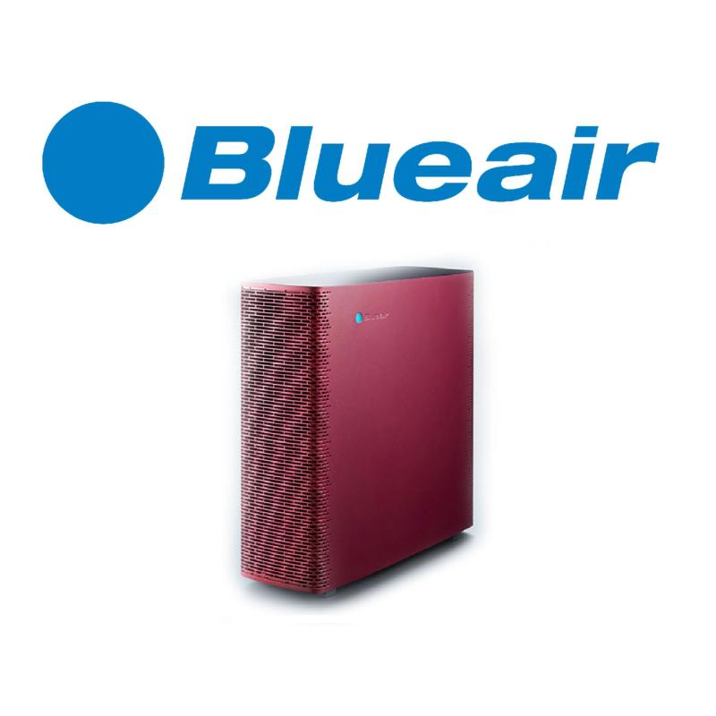 Blueair Sense+ Air Purifier With Hepa Particle Filter Ruby Red Singapore