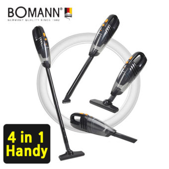 [BOMANN] 4in1 Cordless vacuum Cleaner VC7210 / power suction / HEPA Filter / handheld Vacuum Cleaner / Multiple Use / brush cleaner / vaccum cleaner