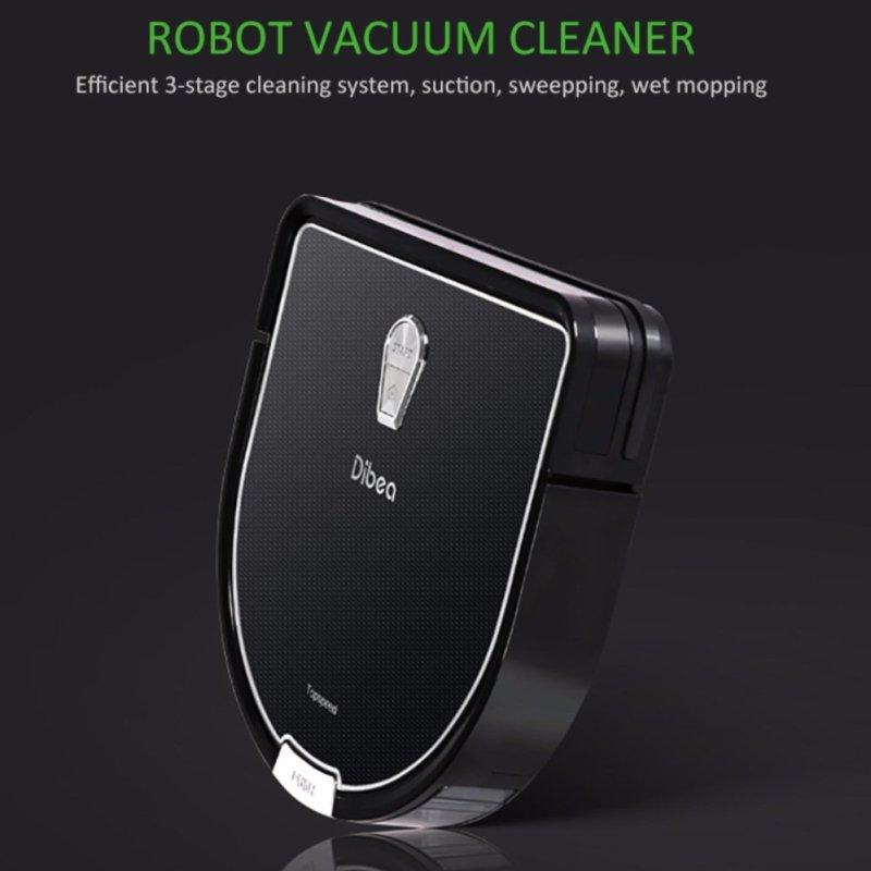 Dibea D960 Wireless and Bagless Robot Vacuum Cleaner - intl Singapore