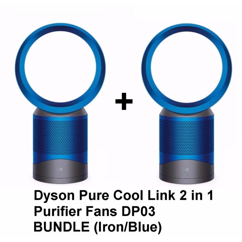Dyson Pure Cool Link 2 in 1 Purifier Fans DP03 Bundle (Iron/Blue) Singapore