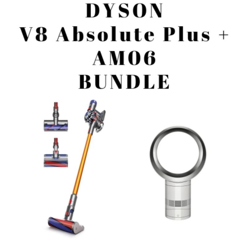 Dyson V8 Absolute Plus + AM06 Bundle Singapore