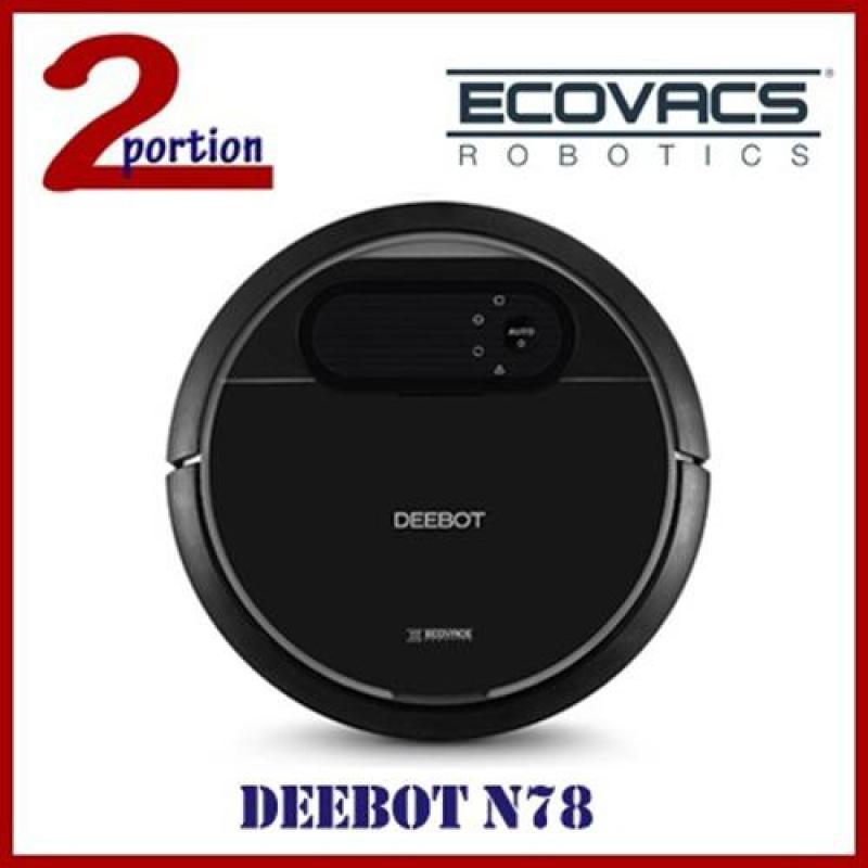ECOVACS DEEBOT N78 ROBOT VACUUM CLEANER WITH ADD-ON ACCESSORIES Singapore