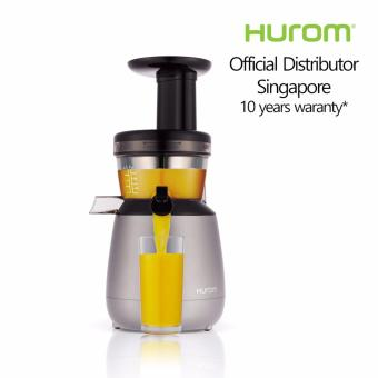 Hurom Hp Slow Juicer Review : HUROM SLOW JUICER HP-1500 GREY Lazada Singapore