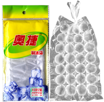 Ice lattice system ice bag disposable ice green ice Ice mold bag 10 bag 2800 tablets made ice box ice