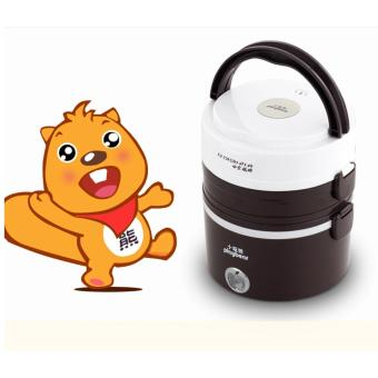 Harga Electric Lunch Box / Lunch Box / Electric Rice cooker / Rice cooker / Mini Rice Cooker Steamer ( Playbear, 2.0L, 3 Layer )