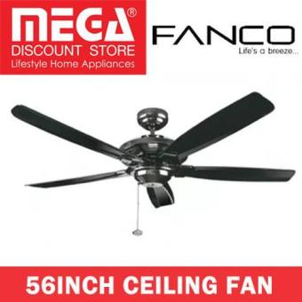 Harga Fanco Air Track 56Inch Ceiling Fan / Optional Remote And Light Kit