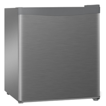 Harga Tecno TFR50 Bar Fridge 47 Litres stainless steel look