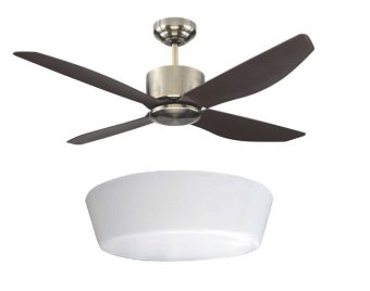 Harga Fanco Icon Ceiling Fan 48inch (Antique Brush) with LED Light