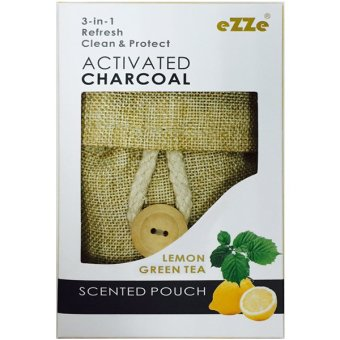 Harga Ezze Original 3 in1 Activated Bamboo Charcoal Scented Pouch