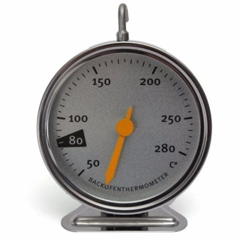 Harga Good Quality Stainless Steel Oven Cooker Thermometer Temperature Gauge M1180