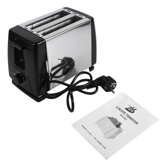 Harga 2-Slice Toaster 750W Electric for Household Bread Baking - intl