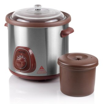 Harga Iona GLSC850 Auto Slow Cooker with Double Boiler 8.5L