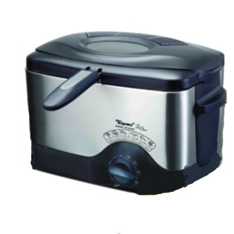Toyomi DF323SS 1.5L Deep Fryer S/Steel Body Black