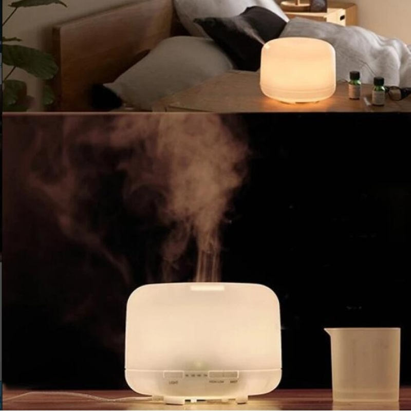 JOY 500ml Oil Aroma Diffuser Ultrasonic Mist Humidifier LED Color Changing Light - intl Singapore