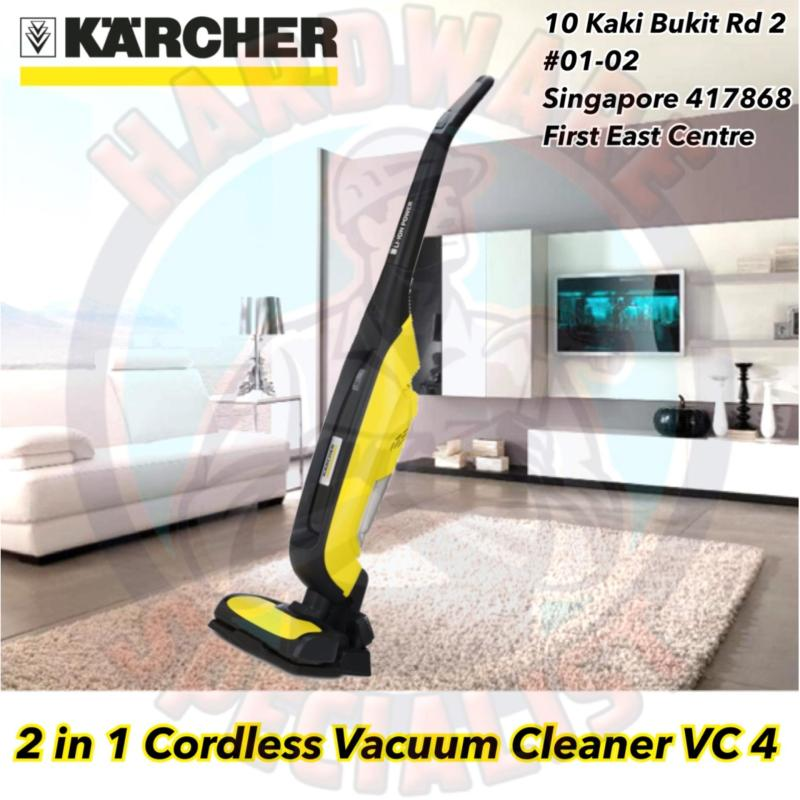 Karcher Vacuum Cleaner VC 4 Battery Singapore