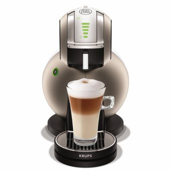 Harga Krups KP230T Nescafe Dolce Gusto Melody 3 coffee capsule machine(automatic) titanium [Energy Class A]
