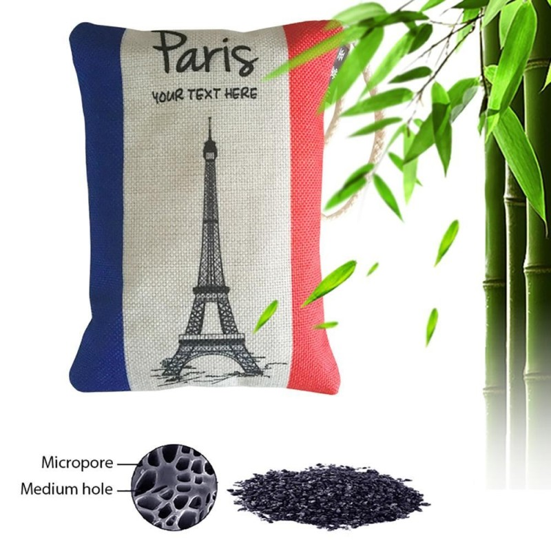 leegoal Natural Air Purifying Bag, Activated Bamboo Charcoal Bag Deodorizer, Cotton Linen Cartoon Pattern Unscented Bag For Cars, Furnitures, Houses, 250g/1 Pack - intl Singapore