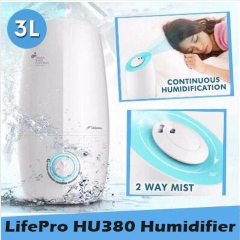 Lifepro HU380 3L Humidifier With Aroma Function/Free Ag+ box/ Singapore safety mark plug/ English Manual Singapore