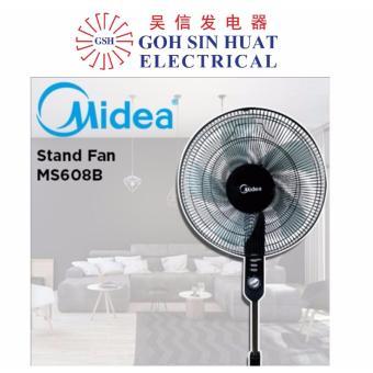 Midea MS608 16inch Stand Fan (BLACK)