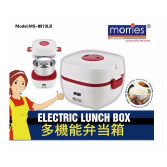MORRIES 1.0L STAINLESS STEEL ELECTRIC LUNCH BOX MS-8973LB
