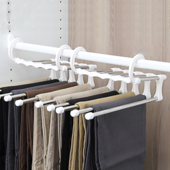 NC a0115 export loaded boutique multi-Wardrobe pants rack