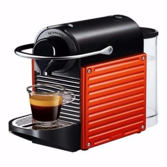 Harga Nespresso Pixie Electric Red Coffee Machine C60SGRENE + FREE 16pcsCapsule