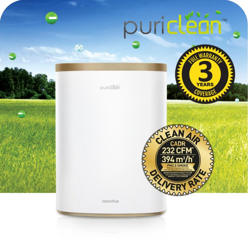 novita PuriClean™ Air Purifier NAP811i (Satiny Champagne) +  3 Years Full Warranty Singapore