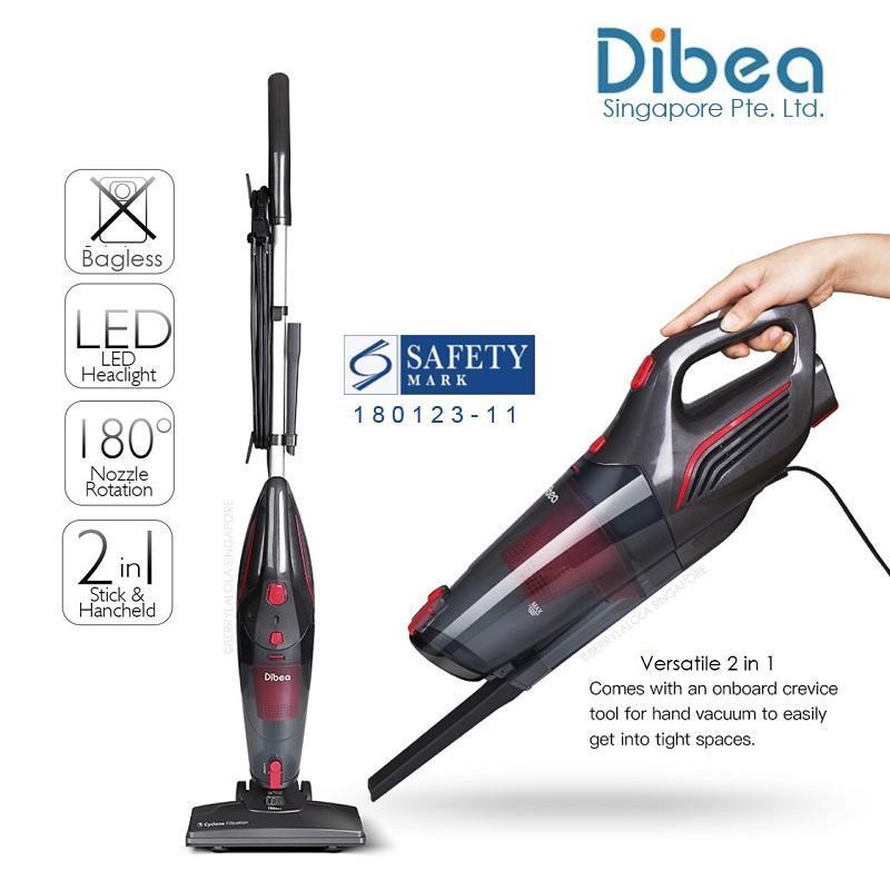[Official Dibea Singapore] SC4588 Vacuum Cleaner 2 in 1 Singapore