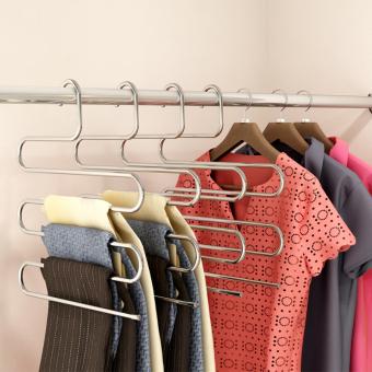 Pants pants hanging pants home wardrobe hanger pants rack