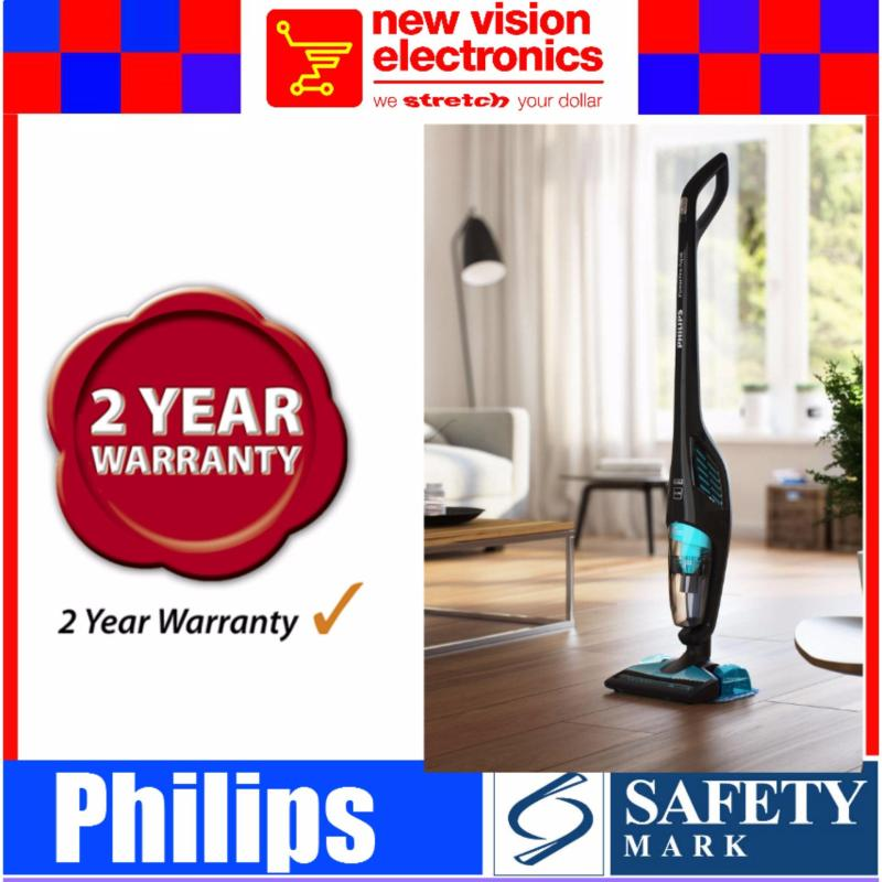 Philips FC6401 PowerPro Aqua Stick vacuum cleaner 2-in-1.2 Years International Warranty.PSB Safety Mark Approved. Singapore
