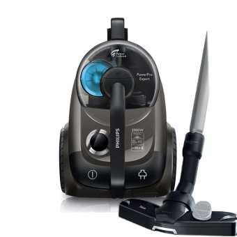 Harga Philips FC9714/61 Bagless Vacuum Cleaner Power Cyclone 6 - Black