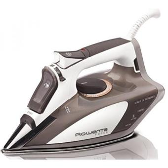 Harga Rowenta DW5080 Focus 1700-Watt Micro Steam Iron Stainless Steel Soleplate with Auto-Off, 400-Hole, Brown