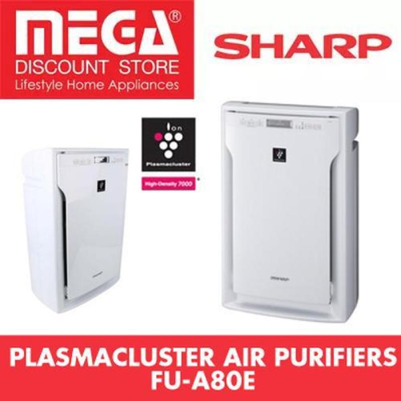 Sharp Fu-A80E-W Plasmacluster Air Purifier with Hepa Filter Singapore