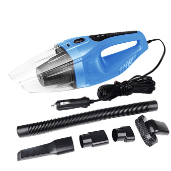 Harga Super Portable Mini Cyclone Wet and Dry Handheld Vacuum Cleaner for Car Vehicle Blue - intl