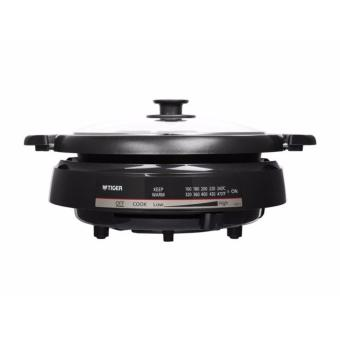 Tiger Electric Steamboat With Teppanyaki Grill Pan - 2