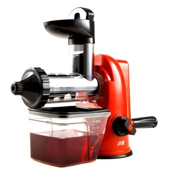 Harga XBootsMalone Manual Blender Slow Juicer (Red)