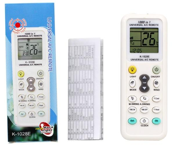 [ENGLISH Version] Universal Air Con Remote Controller Home Aircon Air  Conditioner Conditioning Unit Remote Control