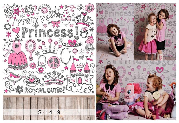 2017 korean version of the new children's photography studio themebackground cloth hundred days baby photo photography backgroundpictures S-1419
