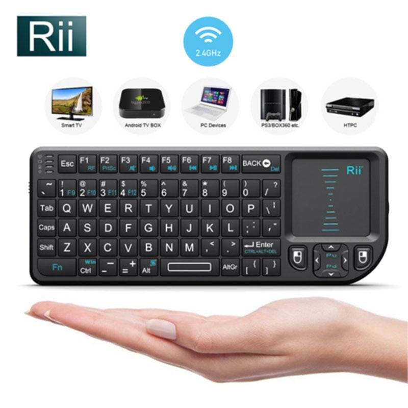 2.4G Mini Wireless Keyboard with Touchpad Air Mouse For PC LaptopSmart TV - intl