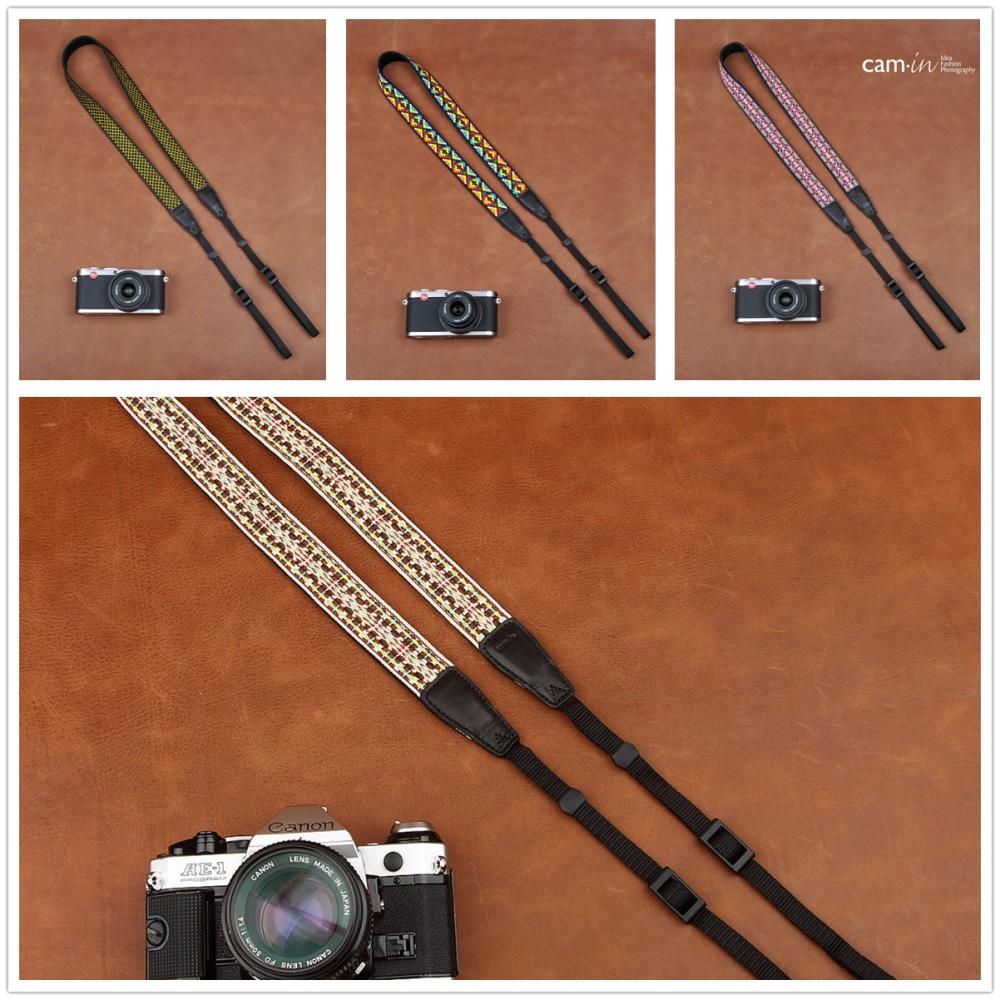 26mm retro universal type SLR digital camera shoulder strap embroidered