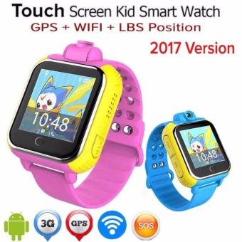 Harga 2Cool 3G Watch for Kids GPS Tracker Phone Call Camera 3G Kids Watch - intl