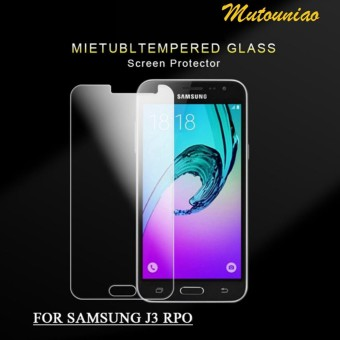2pcs lot For Samsung Galaxy J3 Pro 9H Premium Tempered Glass Screen Protector .