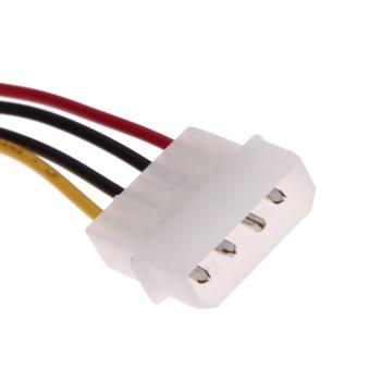 3 IDE to Serial ATA SATA Hard Drive Power Adapter Cable (Intl) - Intl - 5