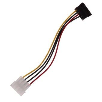 3 IDE to Serial ATA SATA Hard Drive Power Adapter Cable (Intl) - Intl - 4