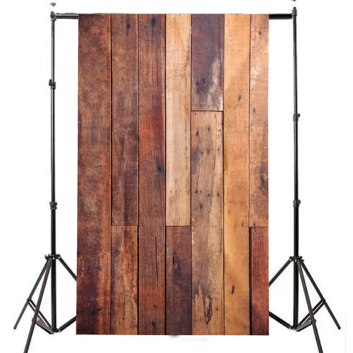3x5ft flower wood wall vinyl background photography photo studio props - 3x5ft Wooden Wall Studio Prop Vinyl Photo Background Photography