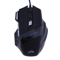 5500DPI LED Optical USB Wired Gaming Mouse 7 Buttons Gamer Computer Mice - intl
