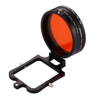 58mm Yellow + Red + Purple Diving Lens Filter For GoPro HERO5 -intl - 2