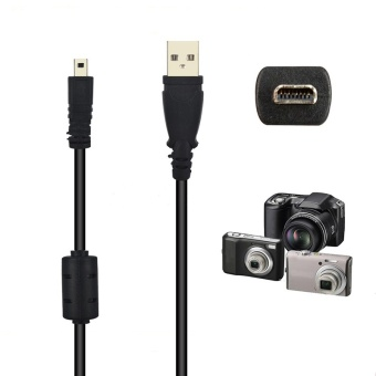 59 Inche 1.5M 8 Pin Camera USB Data Cable Charge Transfer For Olympus Pentaxist FinePix